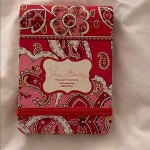 Other - vera bradley notepad